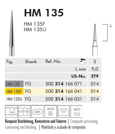 Hartmetallfinierer FG Fig. 135